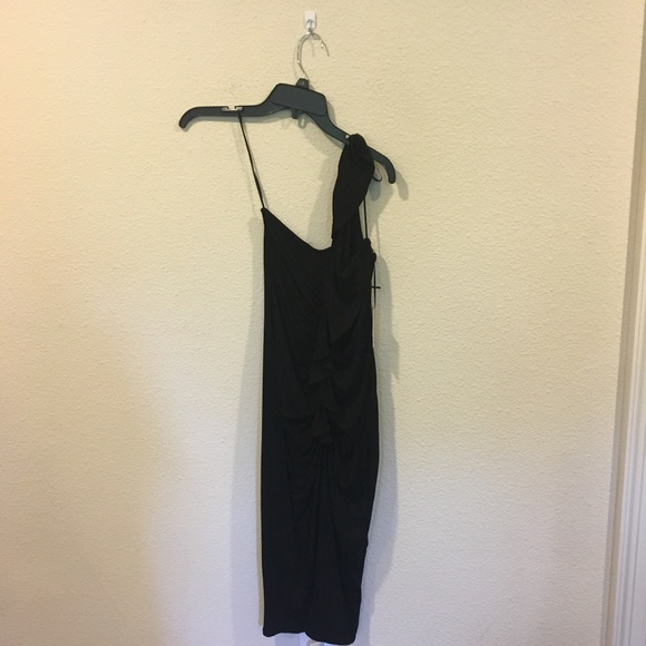 1. State Dresses & Skirts - NWT 1. State black one shoulder dress